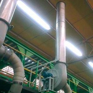 Sistema de Exustão e Ventilação